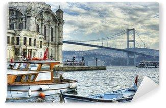 Vinylová Fototapeta Kde dva kontinenty splňovat: Istanbul