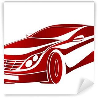 Vinylová Fototapeta Kırmızı Ruya otomobil