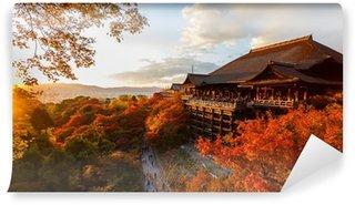 Vinylová Fototapeta Kiyomizu-dera chrámu v Kjótu