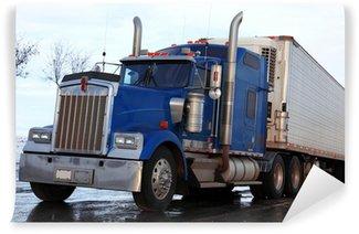 Vinylová Fototapeta Klasické American Truck venku