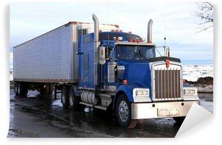 Vinylová Fototapeta Klasický big american truck venku