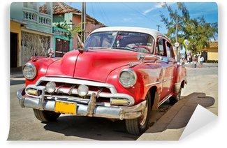 Fototapeta Vinylowa Klasyczna Chevrolet w Trinidad, Kuba