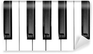 Vinylová Fototapeta Klávesy klavíru