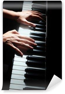 Vinylová Fototapeta Klavír klávesy pianista ruce klávesnice