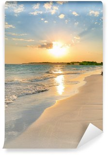 Vinylová Fototapeta Klidné Beach Sunset