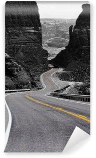 Vinylová Fototapeta Klikatá cesta, Glen Canyon