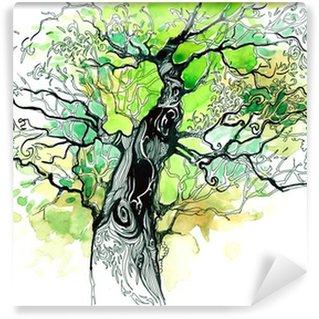 Vinylová Fototapeta Kmen stromu