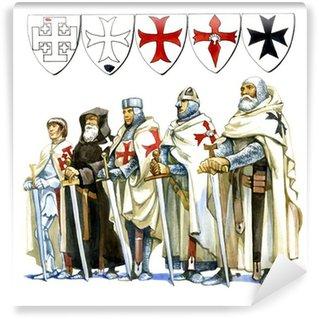 Vinylová Fototapeta Knights Templar