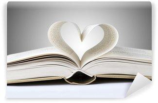 Vinylová Fototapeta Kniha srdce