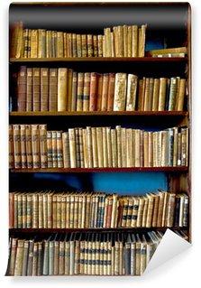 Vinylová Fototapeta Knihy v knihovně