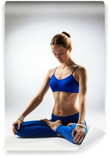 Fototapeta Winylowa Kobieta jogi