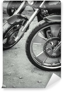 Vinylová Fototapeta Kola z motocyklů