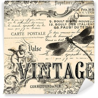 Fototapeta Vinylowa Kolaż archiwalne tła