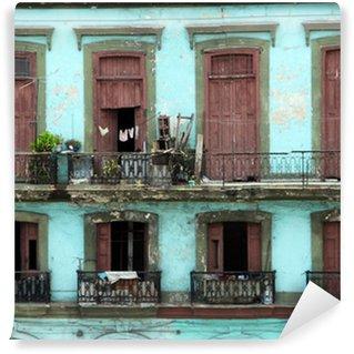 Fototapeta Vinylowa Kolonialnych rezydencji - Hawana