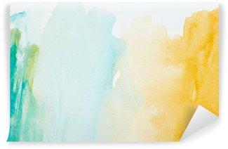 Fototapeta Winylowa Kolor gładzi akwareli sztuki