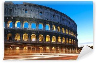 Vinylová Fototapeta Koloseum v noci. Řím - Itálie