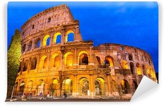Vinylová Fototapeta Koloseum za soumraku, Řím, Itálie
