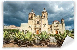 Vinylová Fototapeta Kostel Santo Domingo de Guzman v Oaxaca, Mexiko