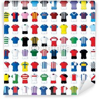 Fototapeta Winylowa Koszulki piłkarskie