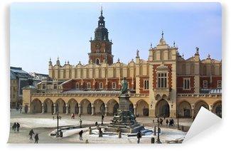 Vinylová Fototapeta Krakov - Cloth Hall - Hlavní náměstí - Polsko