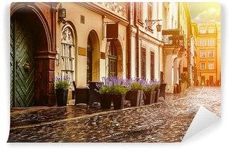 Vinylová Fototapeta Krakov - historické centrum v Polsku