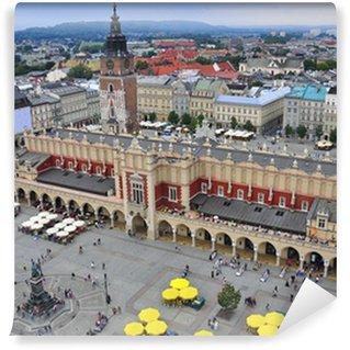 Vinylová Fototapeta Krakov náměstí