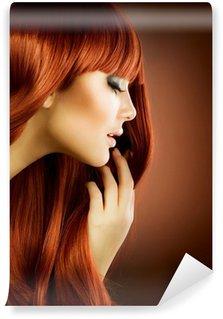 Vinylová Fototapeta Krása portrét. Zdravé vlasy