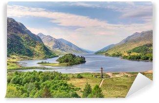 Vinylová Fototapeta Krásná krajina Loch Shiel, Skotsko