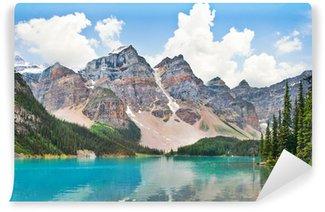 Vinylová Fototapeta Krásná Moraine Lake s Skalistých hor v Albertě, Kanada