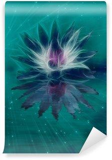 Vinylová Fototapeta Krásné Lotus Flower Abstrakce