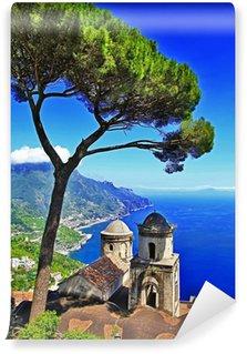 Vinylová Fototapeta Krásné pobřeží Amalfi, obec Ravelo. Itálie