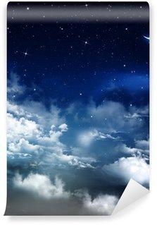 Vinylová Fototapeta Krásné pozadí, noční obloha
