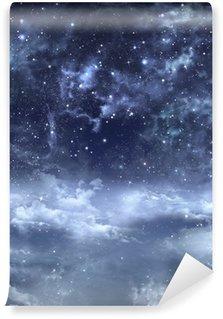 Vinylová Fototapeta Krásné pozadí noční oblohy