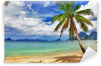 Vinylová Fototapeta Krásné relaxační tropické scenérie