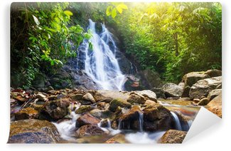 Vinylová Fototapeta Krásné Sai příčka Vodopád v Thajsku