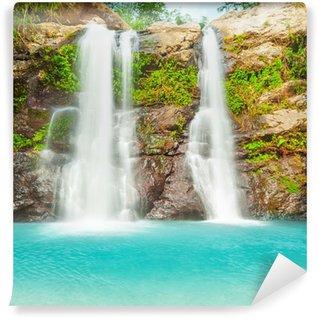 Vinylová Fototapeta Krásný vodopád