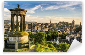 Vinylová Fototapeta Krásný výhled na město z Edinburghu