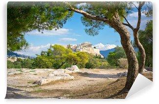 Vinylová Fototapeta Krásný výhled na starověké akropole, Athens, Řecko