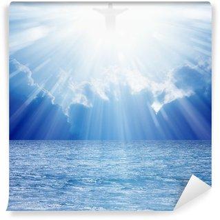 Vinylová Fototapeta Kristus v nebi