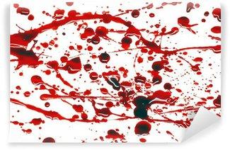 Vinylová Fototapeta Krví postříkat