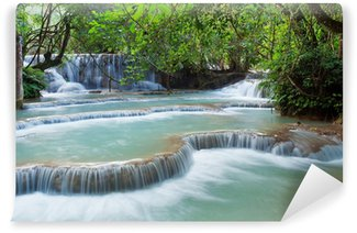 Fototapeta Winylowa Kuang Si wodospad, Luang Prabang, Laos