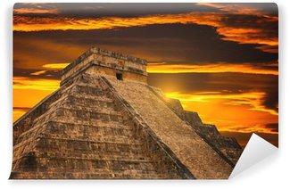 Vinylová Fototapeta Kukulkan pyramida v Chichen Itza stránek