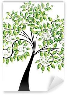 Fototapeta Winylowa Kwiatowy drzewo