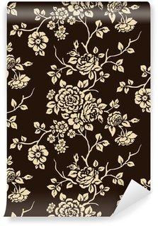 Fototapeta Winylowa Kwiatowy wzór bez szwu