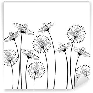 Fototapeta Winylowa Kwiaty polne