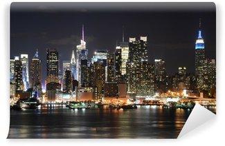 Fototapeta Vinylowa LA NOTTE NEW YORK