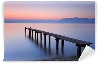 Vinylová Fototapeta Lac Léman Suisse