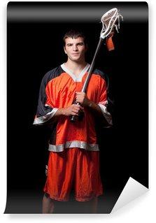 Vinylová Fototapeta Lacrosse player