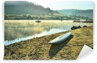 Vinylová Fototapeta Lake Solina (Bieszczady, Polsko) za úsvitu
