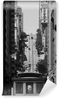Vinylová Fototapeta Lanovka v San Francisku